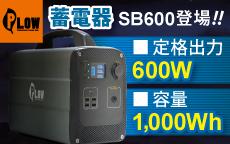 大容量蓄電池 100Wh SB600